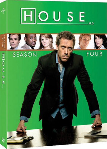 House Season Four DVD Cover