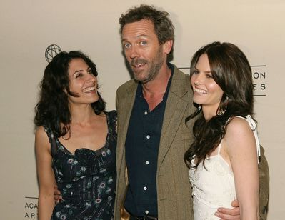 Hugh with his house girls