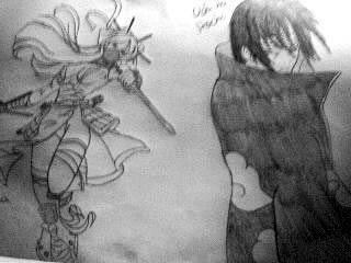 Itachi and myself (as a Konoichi ^.^)