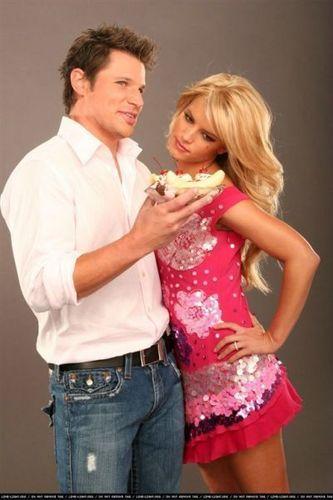 Jessica Simpon & Nick Lachey