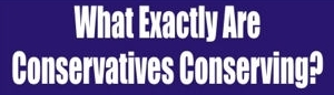 Conservatives Vs Conservationists