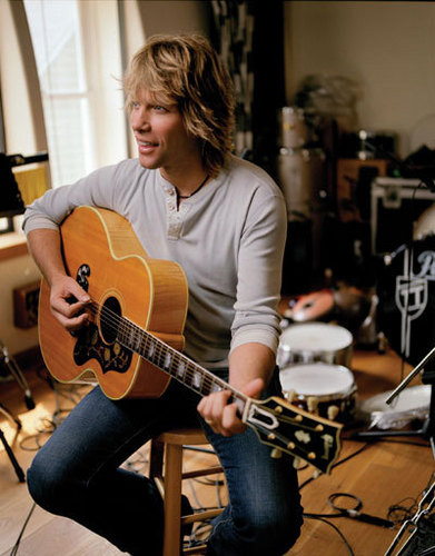 Bon Jovi wallpaper containing a guitarist called Jovi