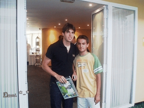 Kaká and one 팬