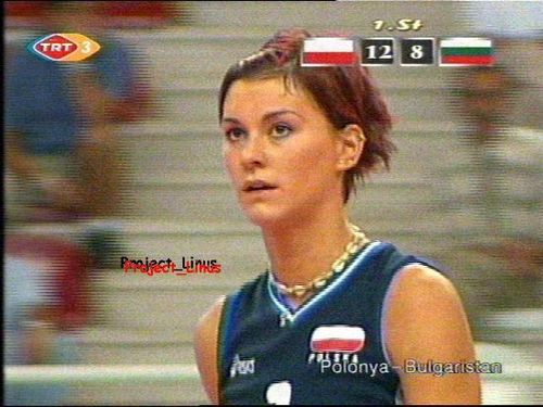 Kasia Skowronska - volleyball Photo