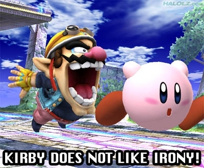 Kirby and Wario