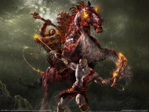 Kratos & Horse