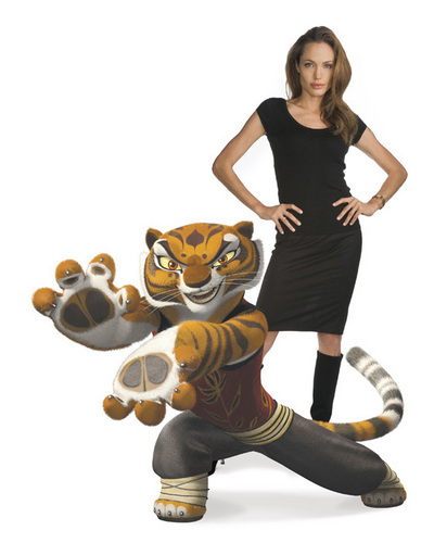 Angelina Jolie - tigress