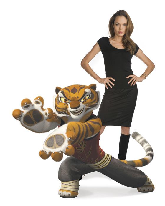 Angelina Jolie Tigress Kung Fu Panda Photo 1485117 Fanpop