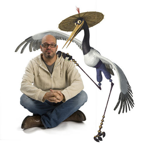 Kung Fu Panda wallpaper entitled David Cross - Crane