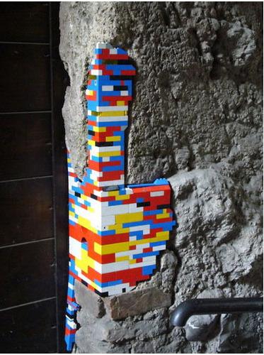 Lego uithangbord Repairs