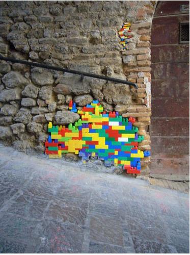 Lego dinding Repairs