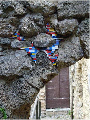 Lego दीवार Repairs