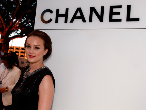 Leighton at Chanel boutique opening