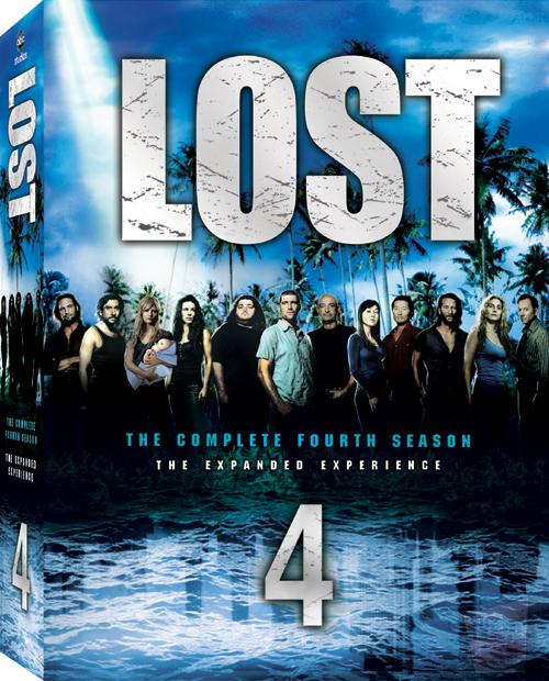 lost season 4 DVD box set cover