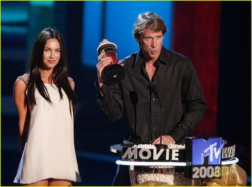 Megan @ MTV awards 08