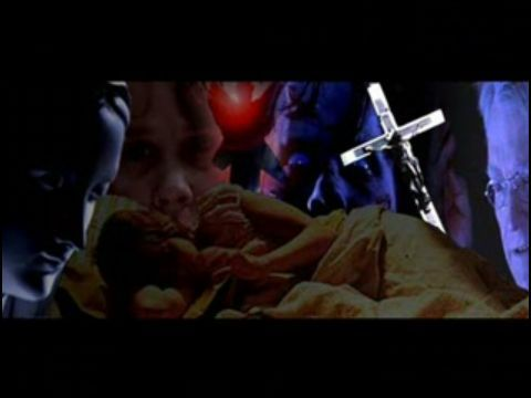 The Exorcist Обои with a Телевидение receiver called Mixed Exorcist