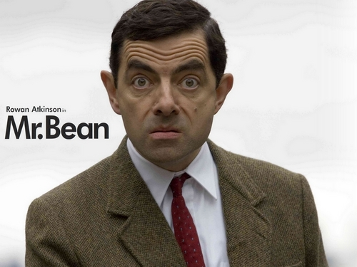 Mr. Bean wallpaper with a business suit, a suit, and a double breasted suit called Mr.Bean
