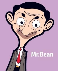 Mr. hạt đậu, đậu