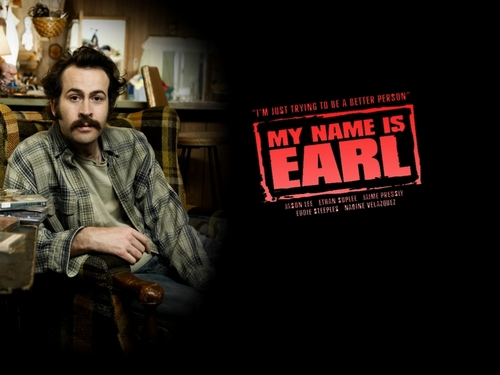 My Name is Earl wallpaper probably with a street, a drawing room, and a brasserie called My Name is Earl