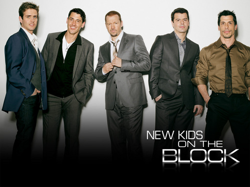 New Kids on the Block wallpaper with a business suit called NKOTB