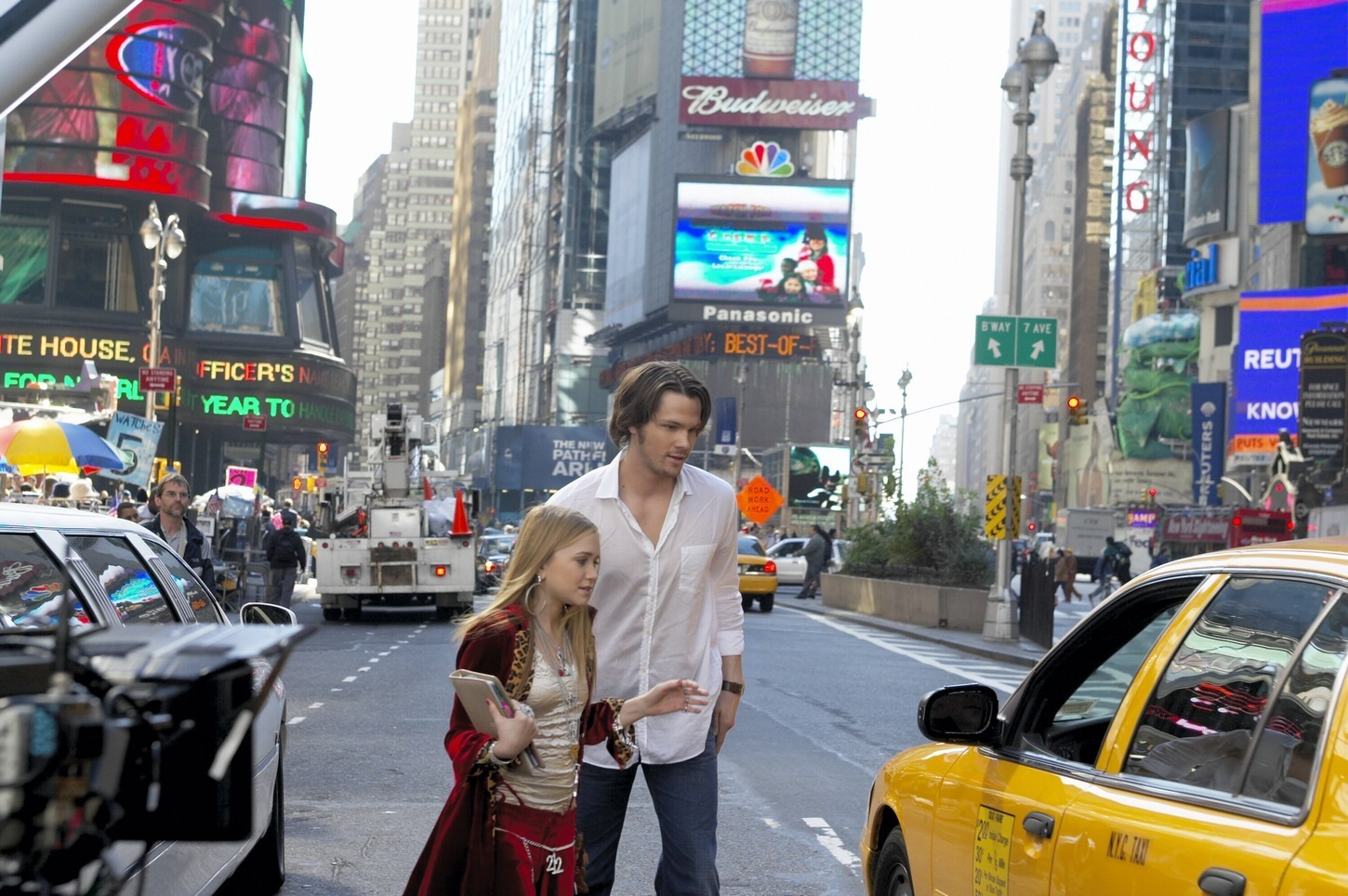 Jared Padalecki New York Minute Stills
