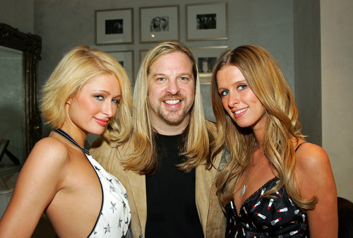 Nicky & Paris @ opening of Color