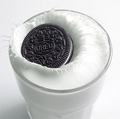 Oreo and Milk - oreo photo