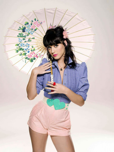 Katy Perry wallpaper containing a parasol titled Photo Shoot