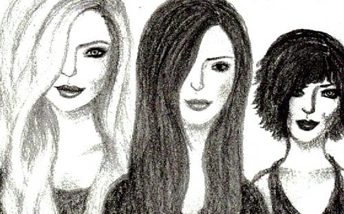 Rosalie, Bella, Alice