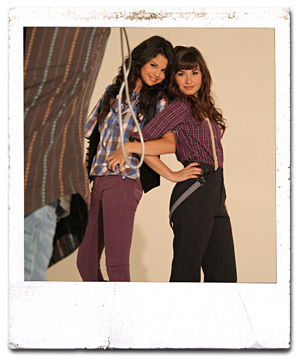 Selena & Demi teen photoshoot