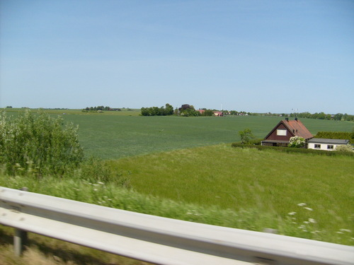 Sweden wallpaper probably containing a grainfield, a wind turbine, and a carriageway called Skåne in Spring