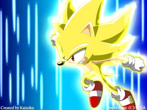 Sonic X wallpaper titled Super Sonic
