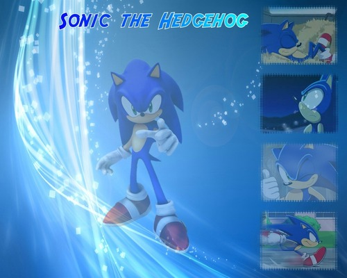 Sonic mga wolpeyper