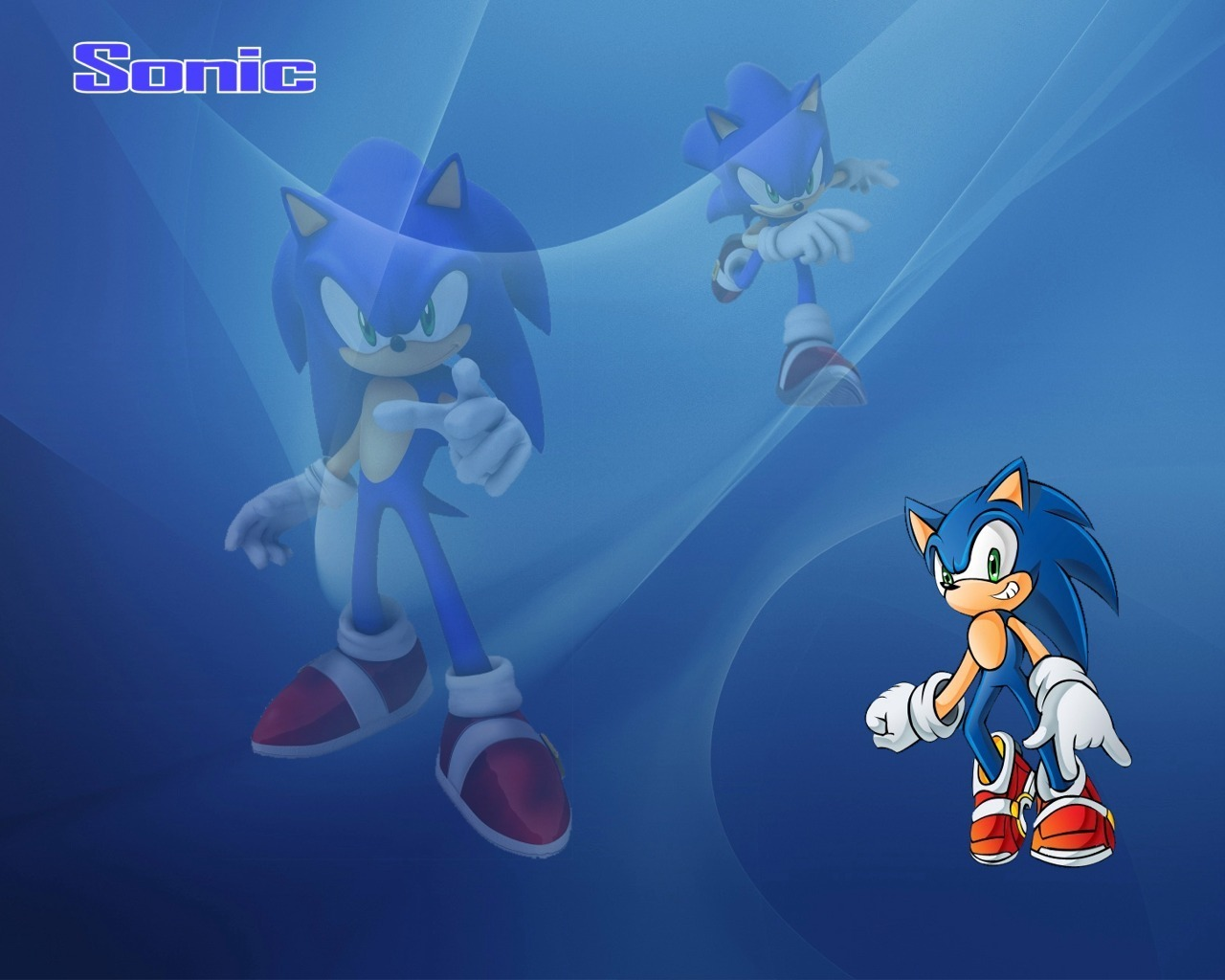 Sonic wallpapers - Sonic the Hedgehog 1280x1024