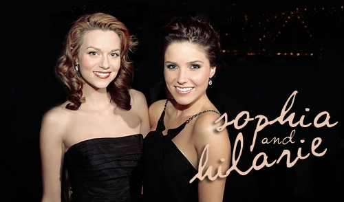 Sophia and Hilarie