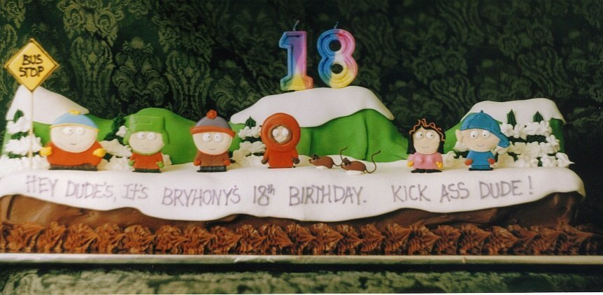 Food Images South Park Cake Wallpaper And Background