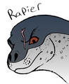 Surf's Up OC; Rapier the leopard seal - surfs-up fan art