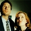 The X-Files photo with a portrait titled The X-Files