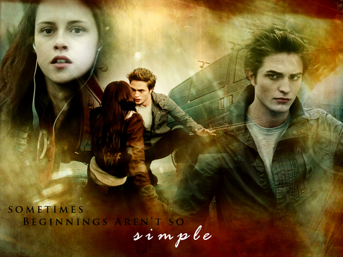 Twilight Series wallpaper with a portrait entitled Twilight