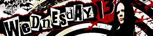 Wednesday 13 - banner