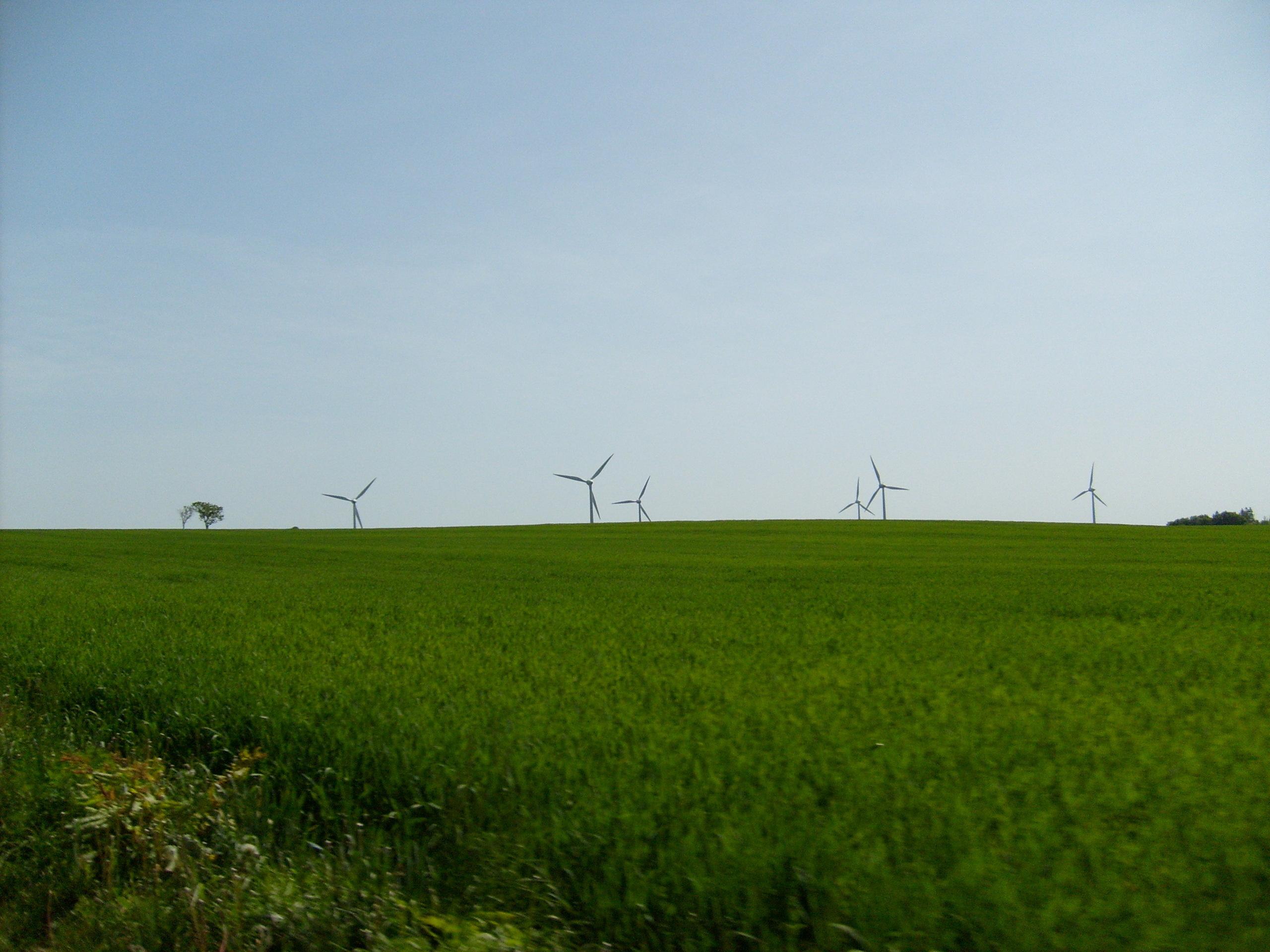 Wind Farm in Sweden