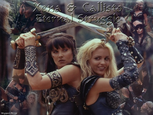 Xena & Callisto Eternal Struggle