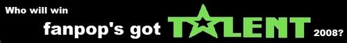 fanpop's got talent 2008 banner
