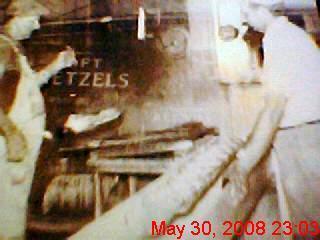 smitties soft pretzels 1930's