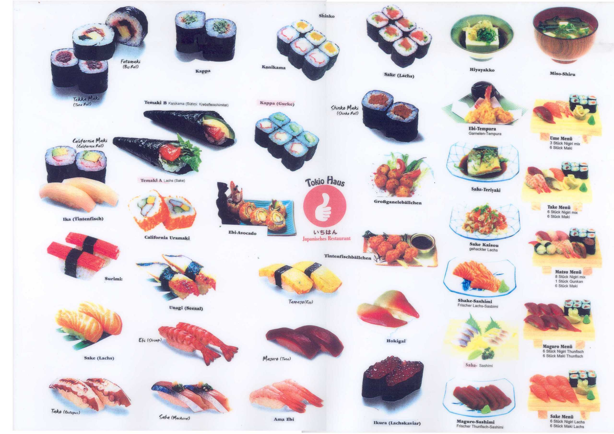 Sushi Rolls Pictures And Names http://www.fanpop.com/clubs/sushi/images/1493155/title/sushi-photo
