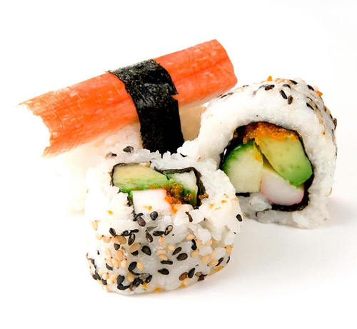 Sushi wallpaper with a turkey dinner and a lunch titled sushi