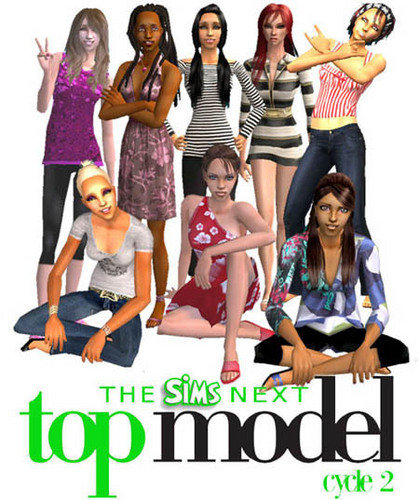 America's Next Top Model wallpaper titled the sims next top model