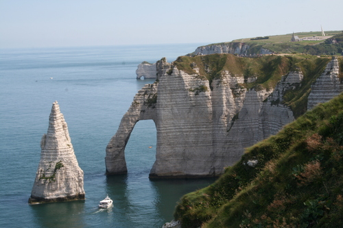 ヨーロッパ 壁紙 titled Étretat, France