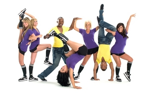 America's Best Dance Crew wallpaper possibly containing a leotard entitled ABDC S2