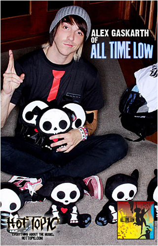 All Time Low's add for Skelanimals